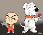 Stewie and Brian. by Kenji-Seay