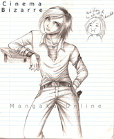 Cinema Bizarre band member2 by MangakaOnline