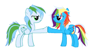 Sisterly Brohoof by asdflove