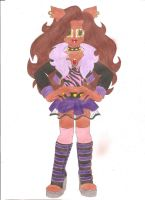 Clawdeen Wolf by animequeen20012003