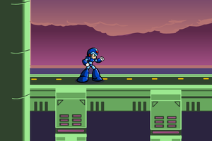Megaman X Full Background by BlueBandanaJake