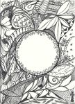 Doodle Frame Two by Heidipickels