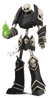 COMMISSION - Death Knight by Rush--it