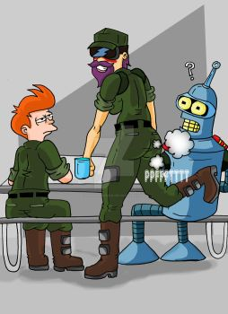 leela is accident by archangemon