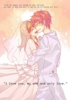 I love you, my one and only love. by kai-miku