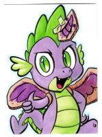 SPIKE Card by RetroStarLing