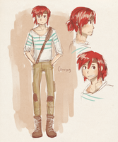 OC :: Conroy concept sketch by rockinrobin