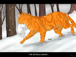 He will be a warrior by Mizu-no-Akira