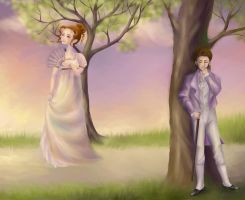 Pride and Prejudice by liska-rediska