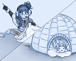 A Home for the Mufflur by BunnyMeroko