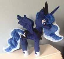 Princess Luna Plushie by Pinkamoone