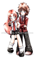 Rei-rei and Alex by Erina-chan