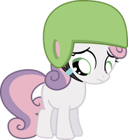 Sweetie Belle is Sad by smilymammoth