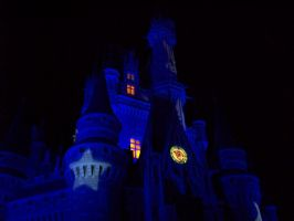 Starry Castle Closeup by Dream-finder