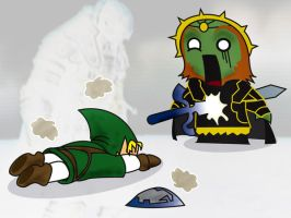 Ganondorf's defeat by MrDue