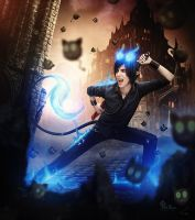 Blue Exorcist Rin by LilifIlane