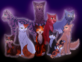 LoudStar's Nine Lives by Velvet-Mutt