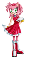 ..::Amy Rose::.. by Pauuh