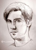 Milo Ventimiglia-PeterSrcibble by kleinmeli