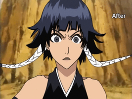 soi fon shocked Old animation by gamemaster8910
