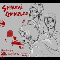 23k - Samurai Champloo by silent-mooby