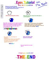 eye tutorial on MS PAINT by kazza234