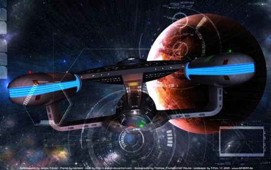 To boldly go... by Joran-Belar