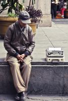 The Typewriter by Andresevan