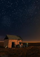 Starry night in the steppe by slepalex