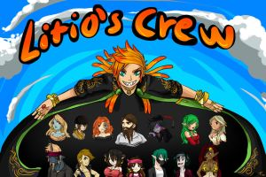 Litio's Pirate Crew!!! WINNERS by Ask-Evin