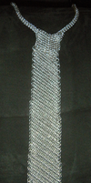 Chainmaille Tie, take 2 by Rolytic