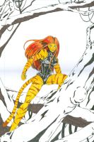 Marvel Adventures Tigra by Chaosbandit