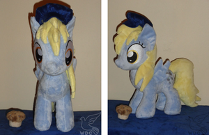 My Little Derpy Filly by WhiteDove-Creations