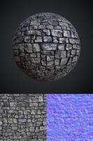 Stone Wall by Leonid-k