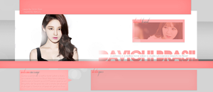 Header Davichi - Portfolio by DarkVisuals