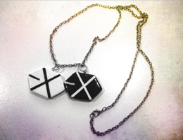 EXO Necklace by xxTea-Timexx
