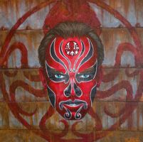 The Red Skull, Chinese Opera Heroes series by Leprikhan