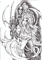 Witchblade by rockingenton