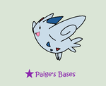 Cutesy Togekiss Base by Paige-the-unicorn