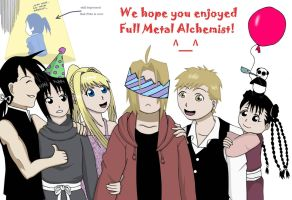 Full Metal Alchemist by Dudess999
