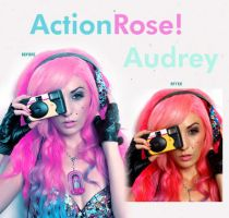 Action Audrey by celniter