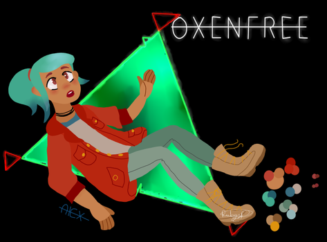 Alex Oxenfree by GlitchError