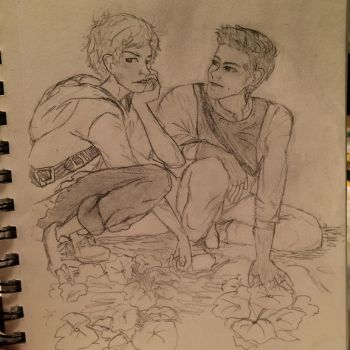 Newt and Thomas by Cynicide78