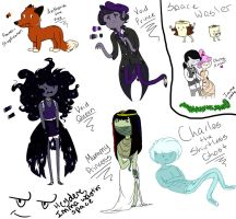 Four Adoptables by AskPrince-of-Rejects