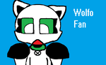 Wolfo Fan by SirBlackDeath