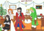 christmas bal at the albertine manor by DarkEressa