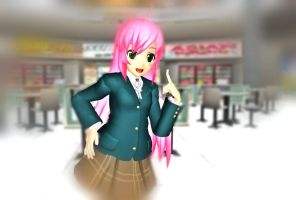 MMD AKASHIYA MOKA DOWNLOAD by hatukui