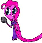 Pinkie Pie as Rapunzel by MonstrousPegasister