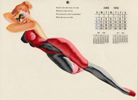 Vintage Pin-Up Harley Quinn by voodoodad