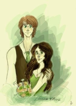 Finnick and Annie: A very special day (SPOILERS) by xxIgnisxx